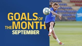 TOP GOALS   September's best goals in training sessions