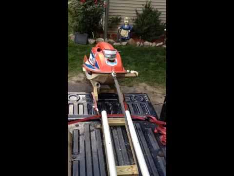 Jet ski ramp
