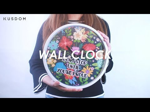 Wall Clock - Design Your Own
