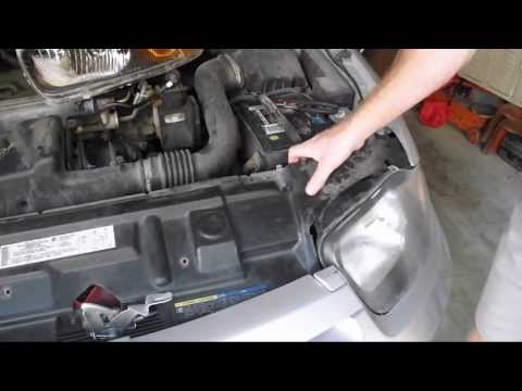 DIY - How to Replace your Chevy Cavalier Headlamp Assembly