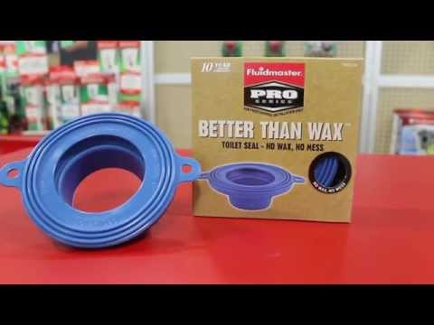 Fluidmaster's Better Than Wax - Wax-Free Toilet Seal Fits any In-Floor Drain and Toilet