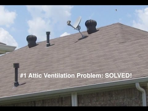 Attic Ventilation Troubleshooting and Radiant Barrier