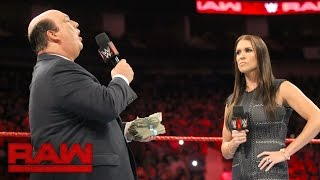Paul Heyman addresses Brock Lesnar