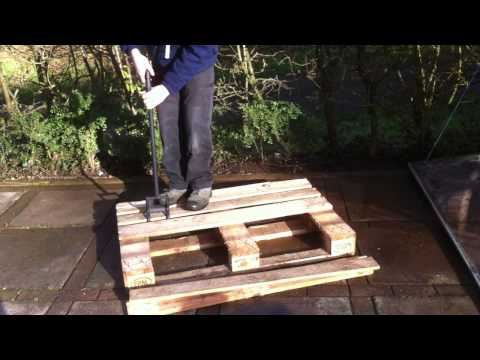 Pallet Breaker Dismantling Bar - For Lifting Boards