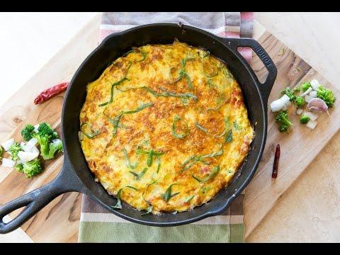 Cooking Guru: S1E1: Fabulous Veggie Frittata