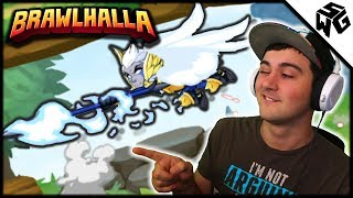 Mixbox Unboxing + Test Play! - Cool New Brawlhalla Controller!
