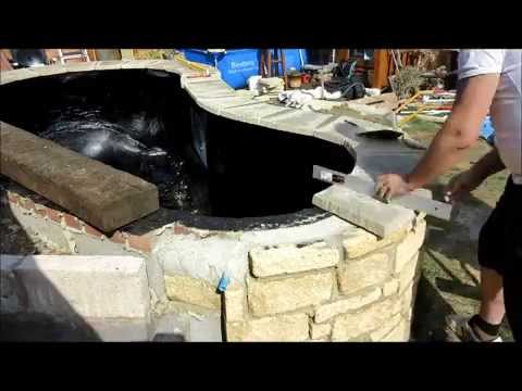 How to build a Koi Pond part 5   2015