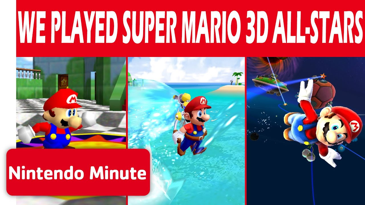 We Played Super Mario 3D All-Stars!