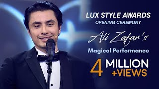 Ali Zafar Lux Style Awards Opening Ceremony Magical Performance