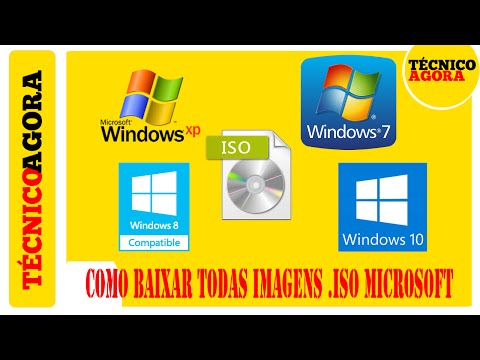 Como baixar todas imagens .ISO da Microsoft. (Windows XP, 7, 8, 8.1 e 10)
