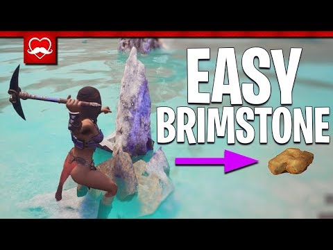 BRIMSTONE IS EVERYWHERE IF YOU LOOK HERE! | Conan Exiles Modded PvP | E6