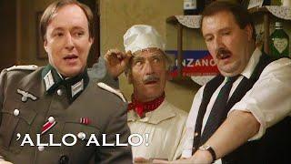 A Saucy Radio Message Nearly Gives René Away | Allo' Allo'! | BBC Comedy Greats