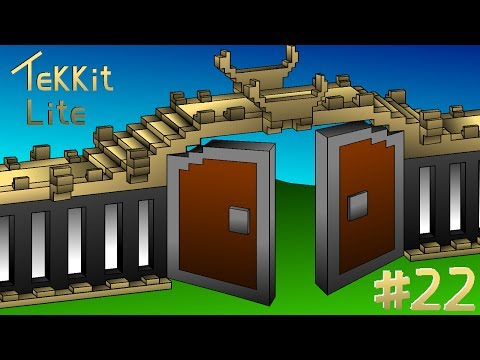 Tekkit Lite Episode 22 - Automatic Macerator and Electric Furnace