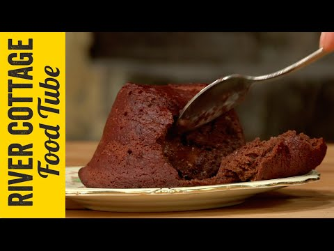 Gluten Free Chocolate Fondant | Naomi Devlin