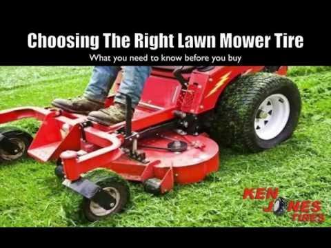 Choosing The Right Lawn Mower Tire   Ken Jones Tires   1-800-225-9513