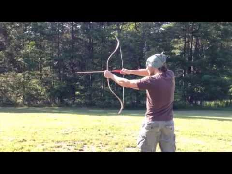 Training Ottoman Target Composite Horn Bow