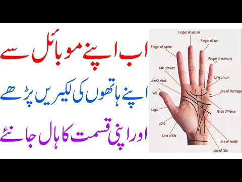 How To Read Palm Lines || With Your android Phone In Urdu 2018