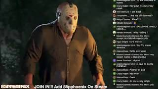 PLAYING AS JASON AS TURD MATCH | JOIN IN!!! | Friday The 13th: The Game (ʘ‿ʘ)