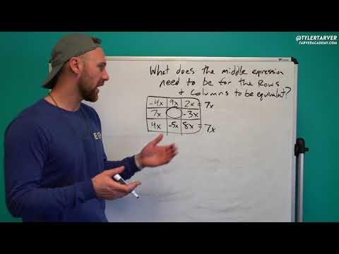 Missing Expressions in a Chart | Problem of the Day #79