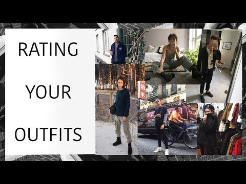 RATING YOUR OUTFITS | YOUR OUTFITS ARE CRAZY!!! | Prada, Acne, Gucci, Yezzy!!!