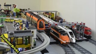 Lego City Tram 8404 Motorized Cool Funny