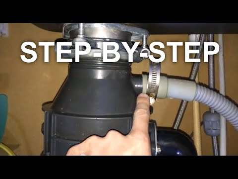 My Garbage Disposal LEAKS - EASY FIX - SAVE $$