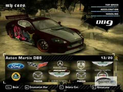 Need For Speed Most Wanted Best Cars