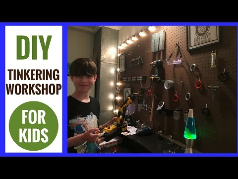 The Making of a DIY Tinkering Workshop for Kids