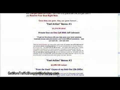 Get More Traffic Blueprint Workshop with Jeff Johnson