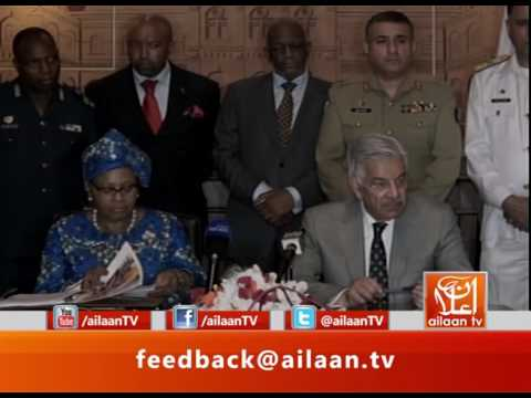 Pakistan And South Africa Joint Conference #Pakistan #SouthAfrica #KhawajaAsif #Government #Relation