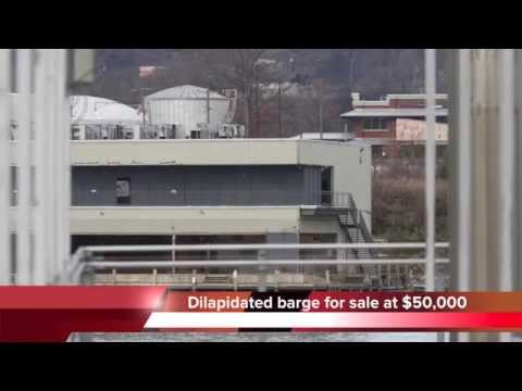 Allen Casey barge for sale at $50,000 in Chattanooga