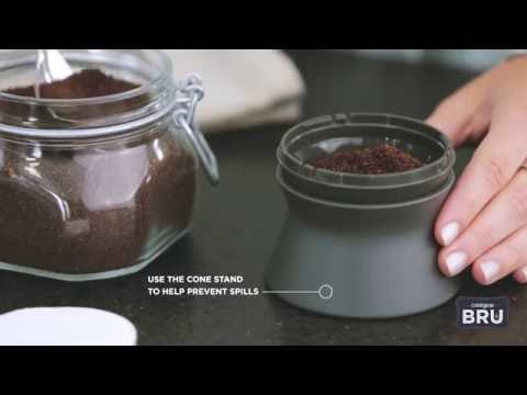 How to: BRU Single-Serve Cold Brew Coffee Maker