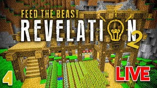 FTB Revelation 2 EP2 Starting The New EnderIO + Moving Day