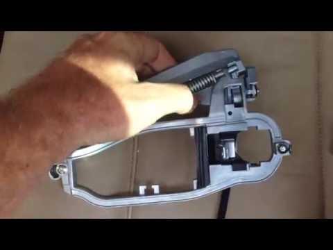 BMW E53 x5 Front Door Will Not Open Outside Door Handle Frame Replacement DIY Complete
