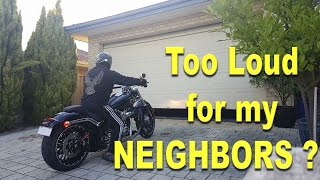LEGALLY LOUD Harley Ride By and Riding Sound