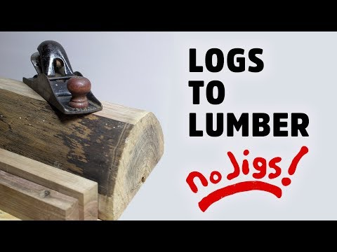 Table Saw Tip - Cutting Logs Into Boards - HNB #14
