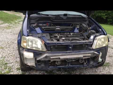 1997-2001 Honda CR-V Front Bumper Replacement Using A $32 Certi-fit Bumper