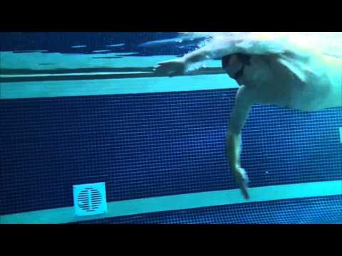 Front crawl catch phase analysis