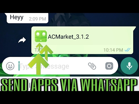 How To Share Any Type Of File Through Whatsapp    Full Size Photos    New Whatsapp Feature