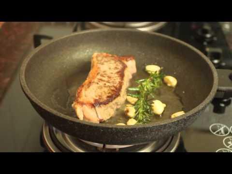 How to cook medium rare Striploin