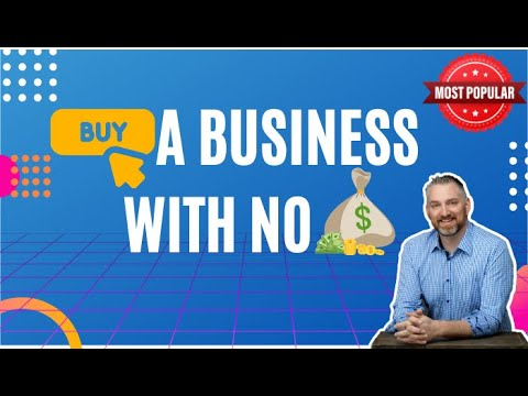 Buy a business with no money? How to Buy a Business - How to Sell a Business - David C Barnett