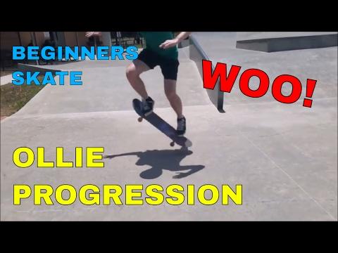 OLLIE PROGRESSION UPDATE | BEGINNERS SKATE