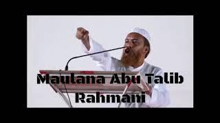 Maulana Abu Talib Rahmani on Dalit