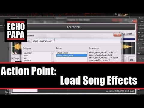 Virtual DJ 8: Actions Points - Load Effects