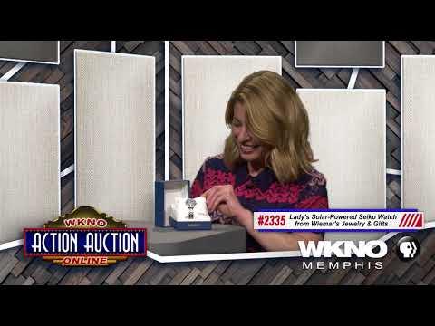 WKNO ACTION AUCTION 2018 - #2335 SEIKO WATCH