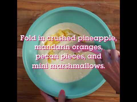 Waitress Mermaid Marshmallow Pie