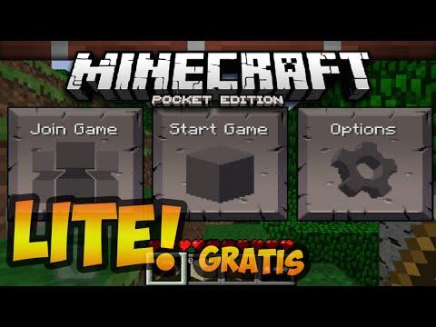 Minecraft: Pocket Edition Lite (MCPE) | La versión gratuita oficial de Pocket | Review y Descarga