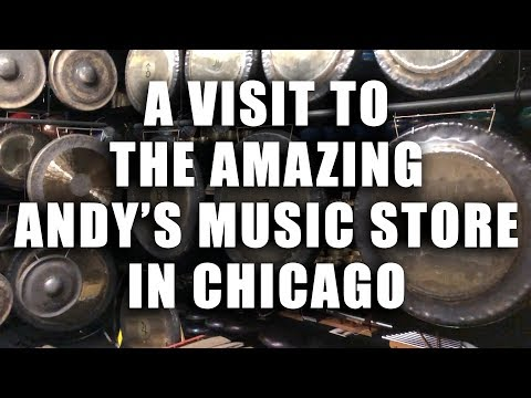 Andy's Music in Chicago | Dr. SaxLove takes a Field Trip To Andy's Music Store