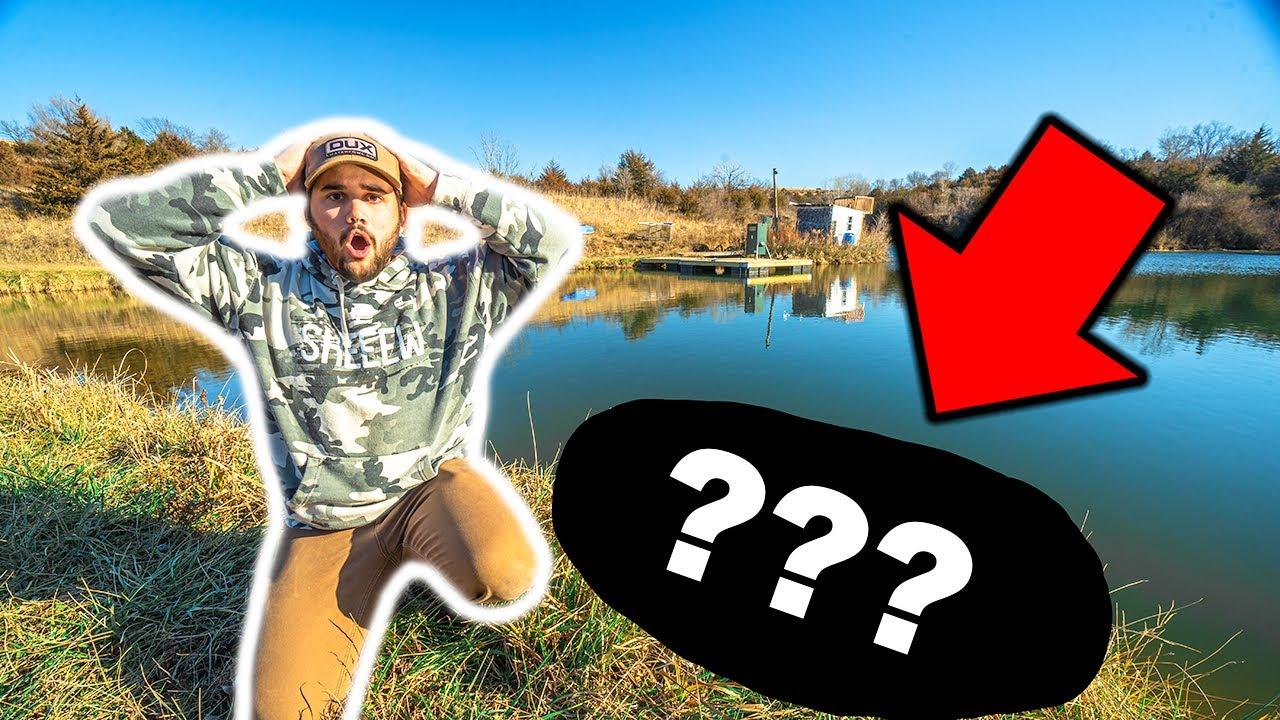 I Found a DEAD ANIMAL in the POND!!! - GAME WARDEN CALLED