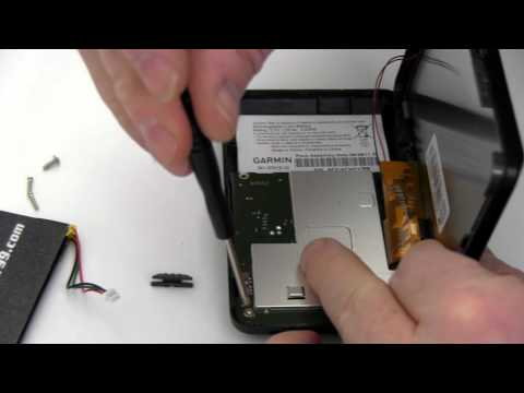How to Replace the Garmin Nuvi 465T Battery